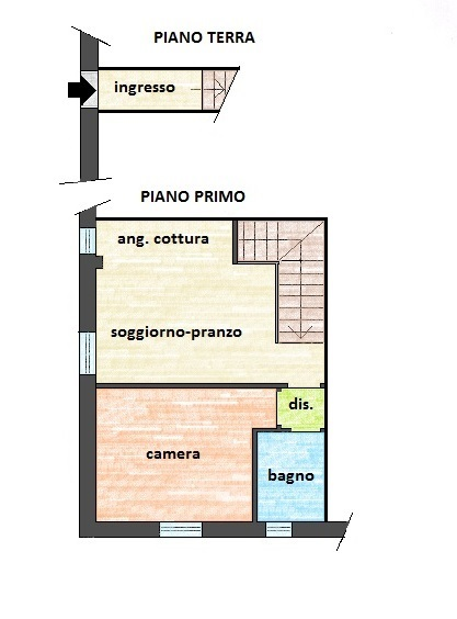 Planimetria 1/1 per rif. 437Ea