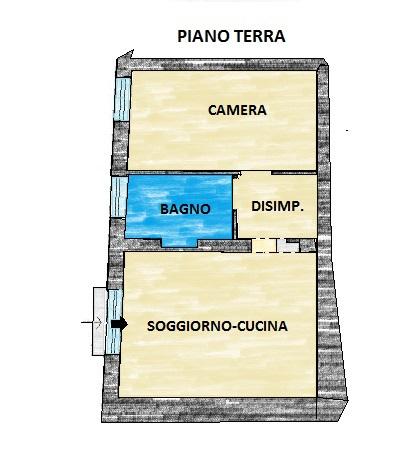 Planimetria 1/1 per rif. 553Ea