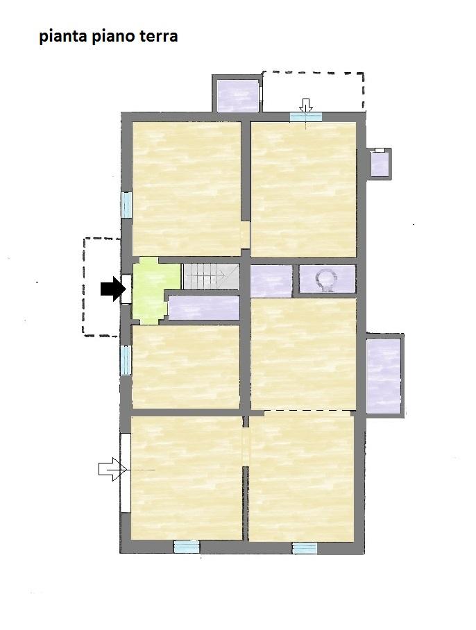 Planimetria 1/2 per rif. 561E