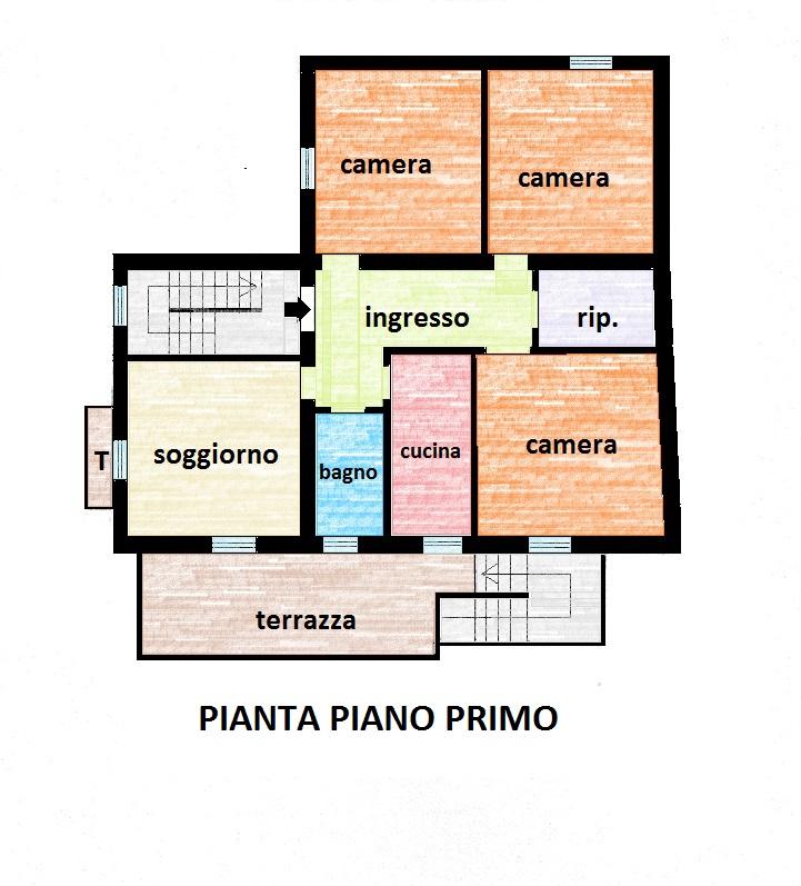 Planimetria 1/3 per rif. 562E
