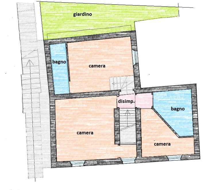 Planimetria 2/2 per rif. 592E