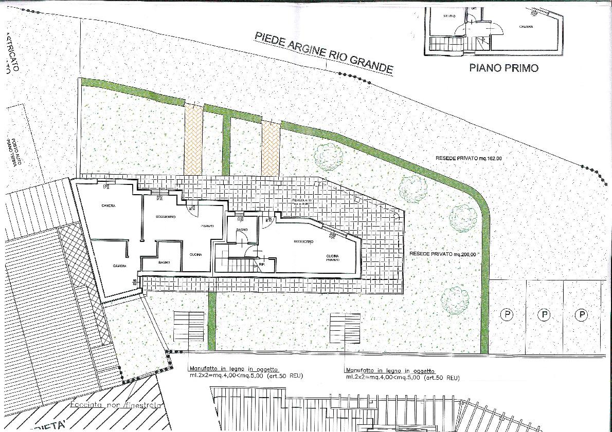 Planimetria 2/2 per rif. 603