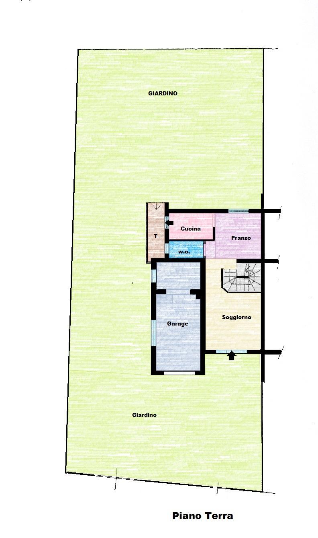 Planimetria 1/2 per rif. 604E