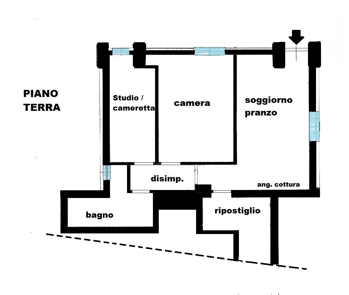 Planimetria 1/1 per rif. 618E