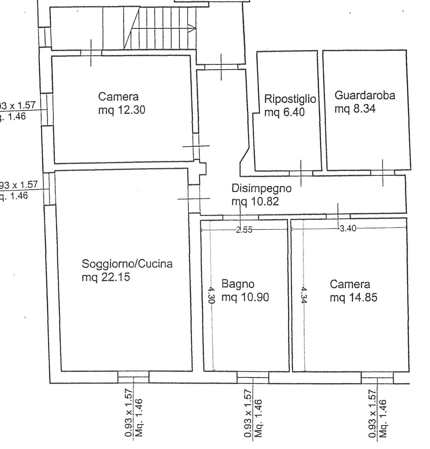 Planimetria 1/1 per rif. 2317