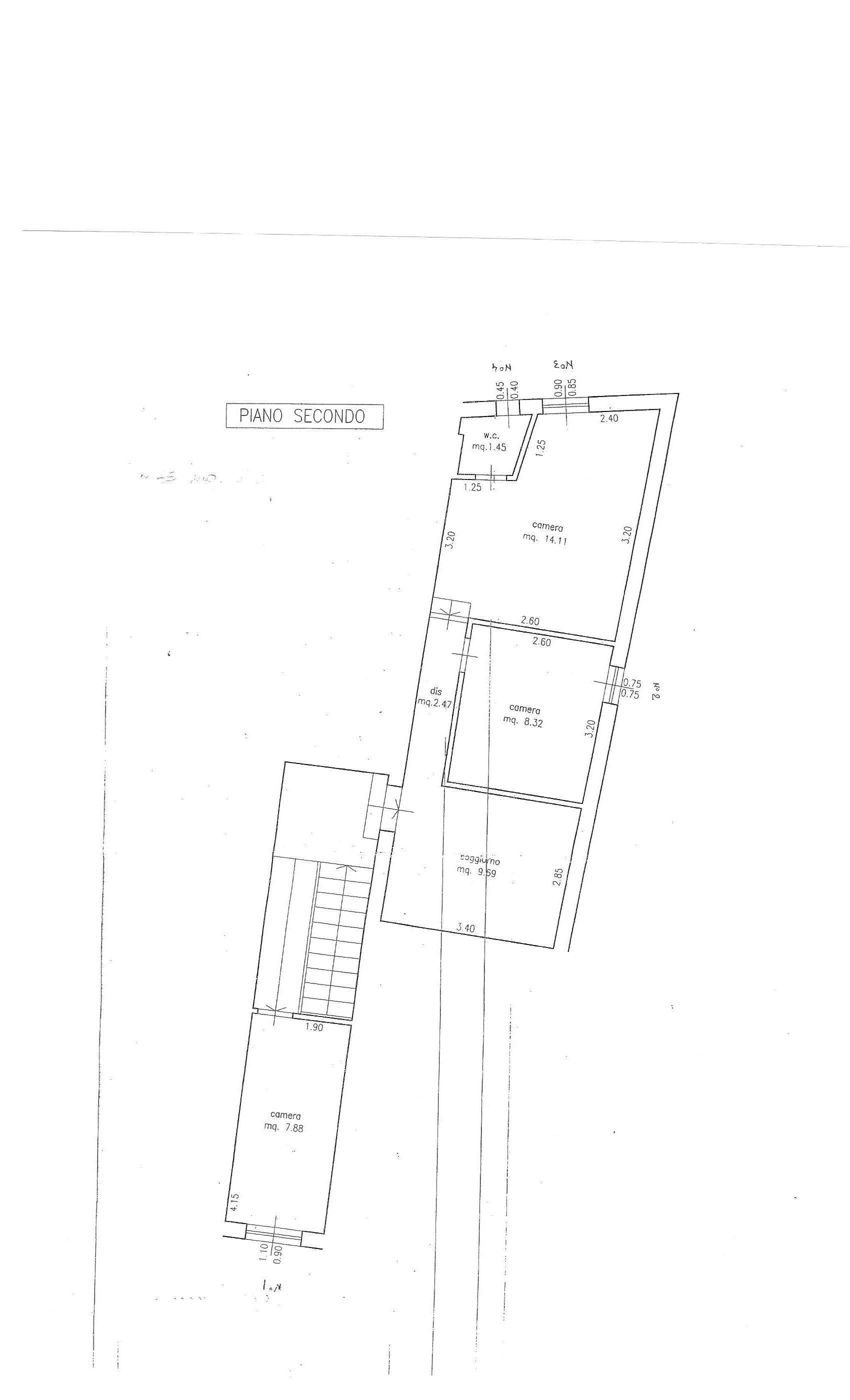Planimetria 1/1 per rif. 1768
