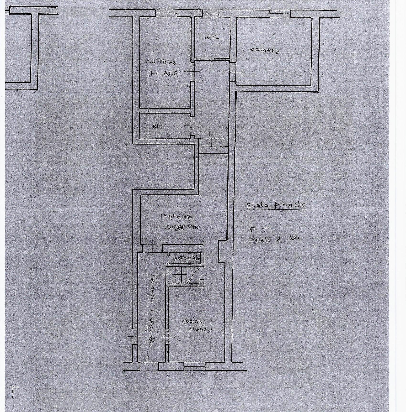 Planimetria 1/1 per rif. 1849