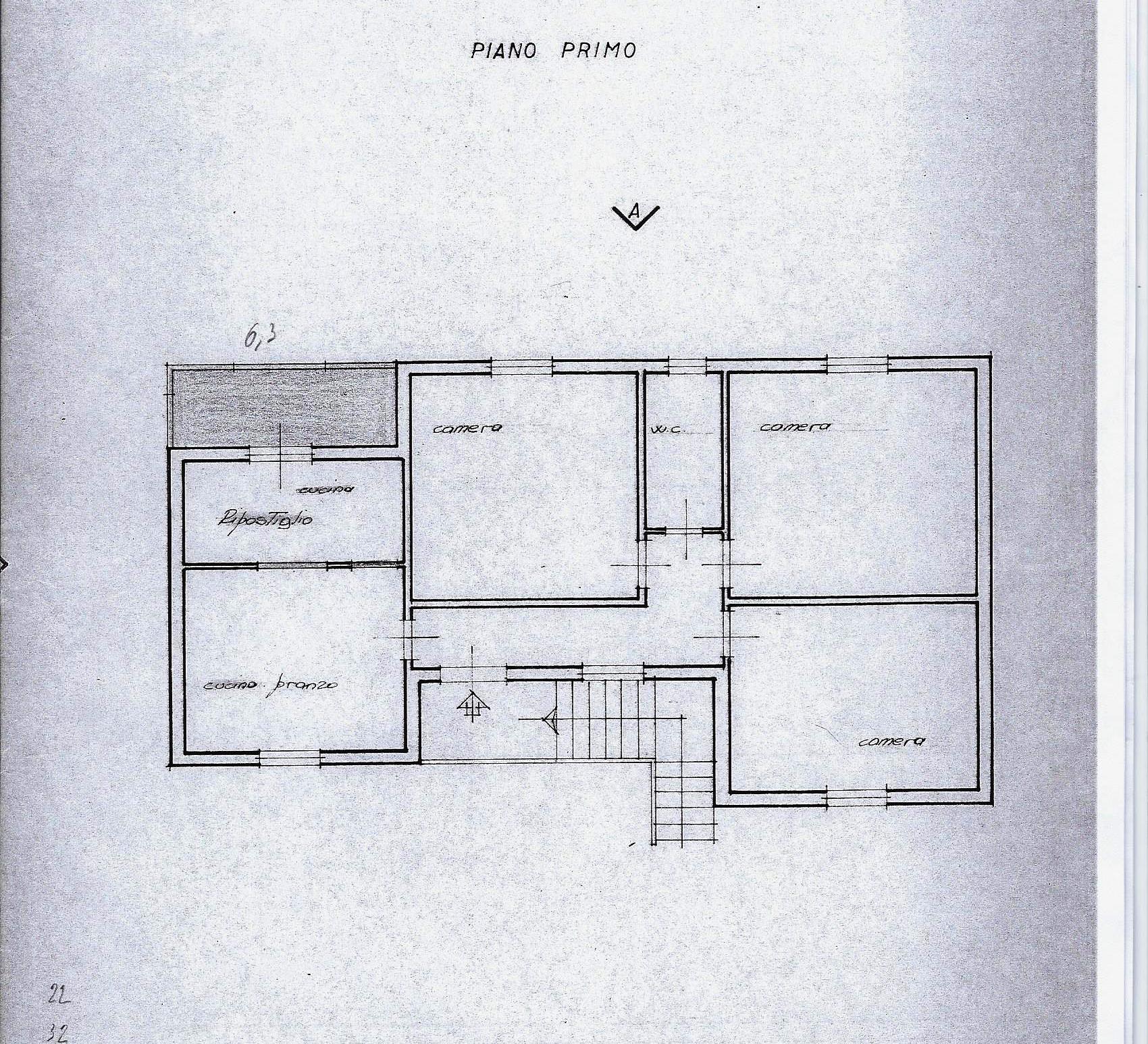 Planimetria 1/1 per rif. 1895