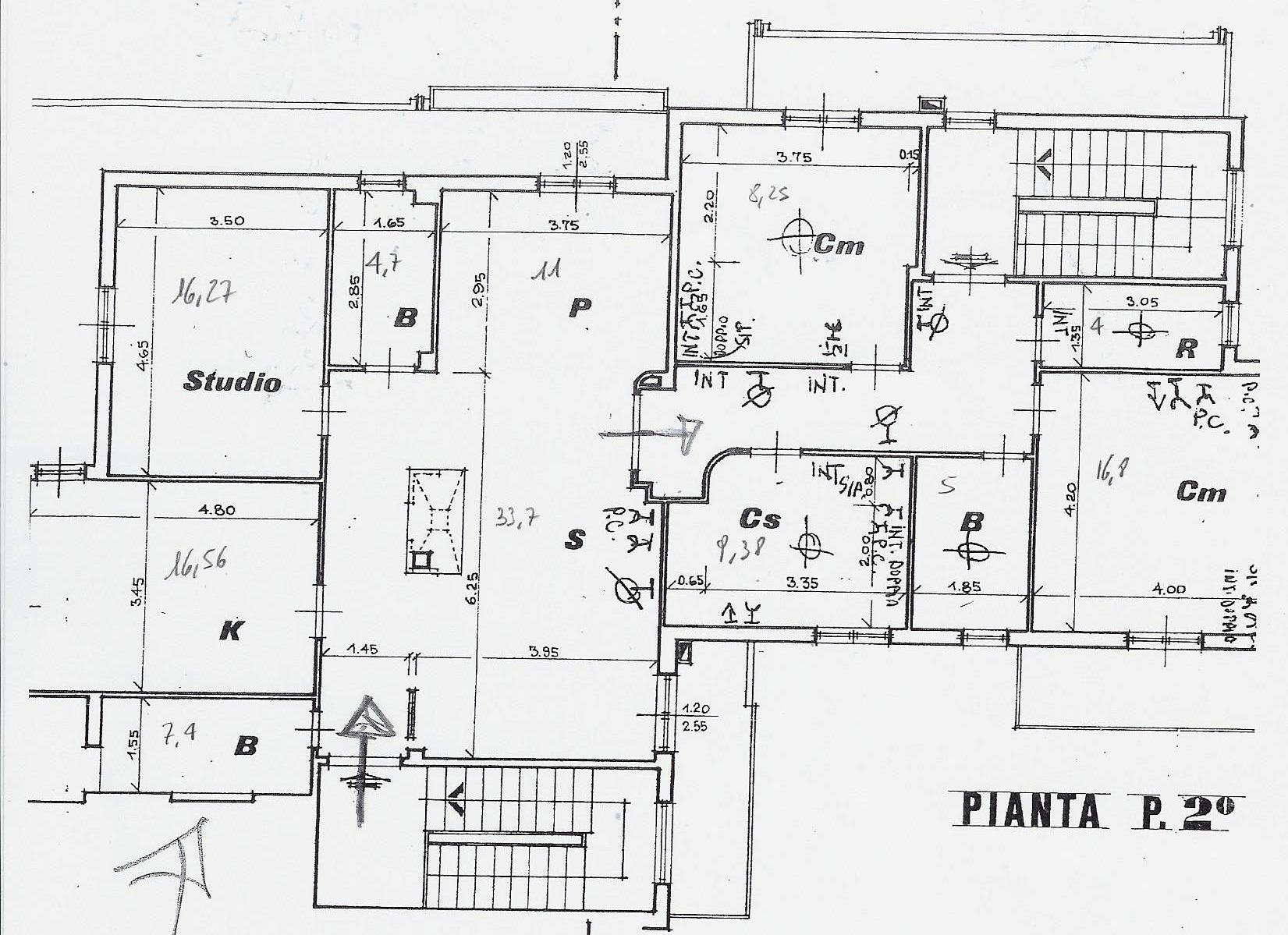 Planimetria 1/1 per rif. 1950