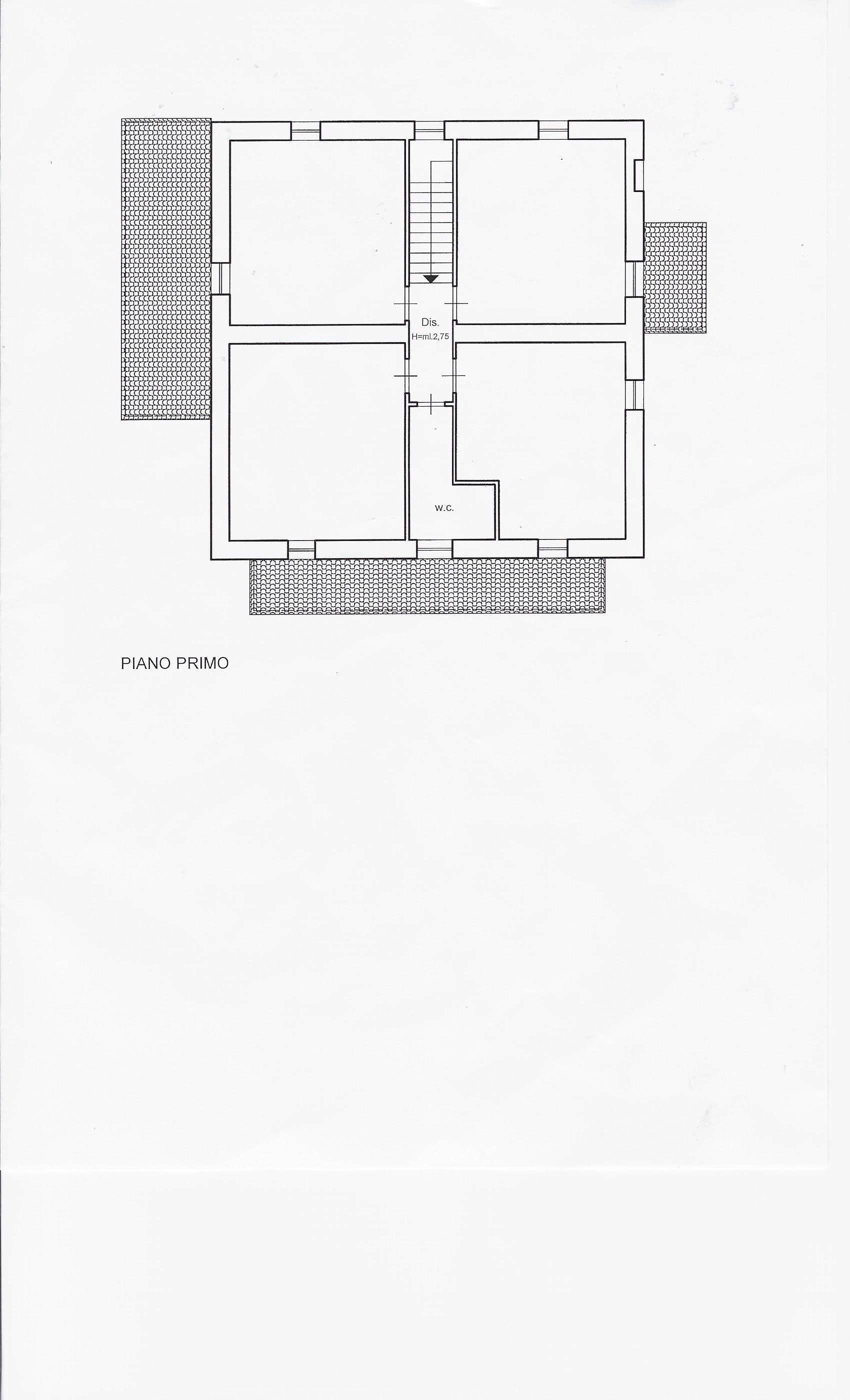 Planimetria 2/2 per rif. 1952