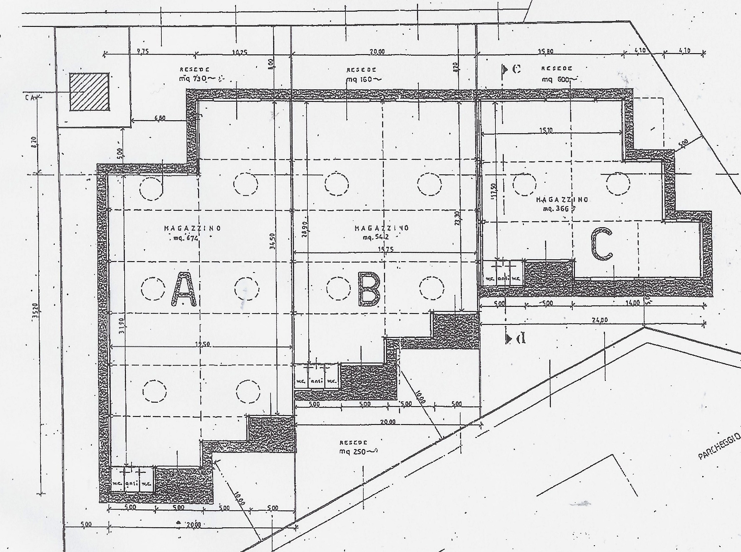 Planimetria 1/1 per rif. 2014