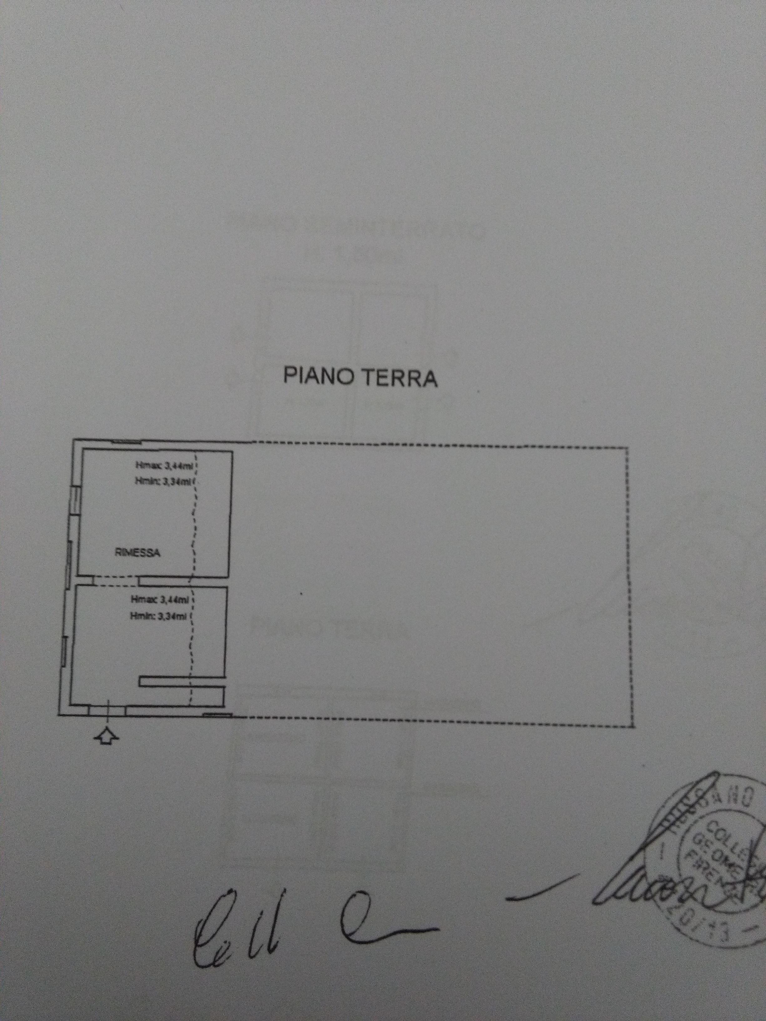 Planimetria 4/4 per rif. 2039