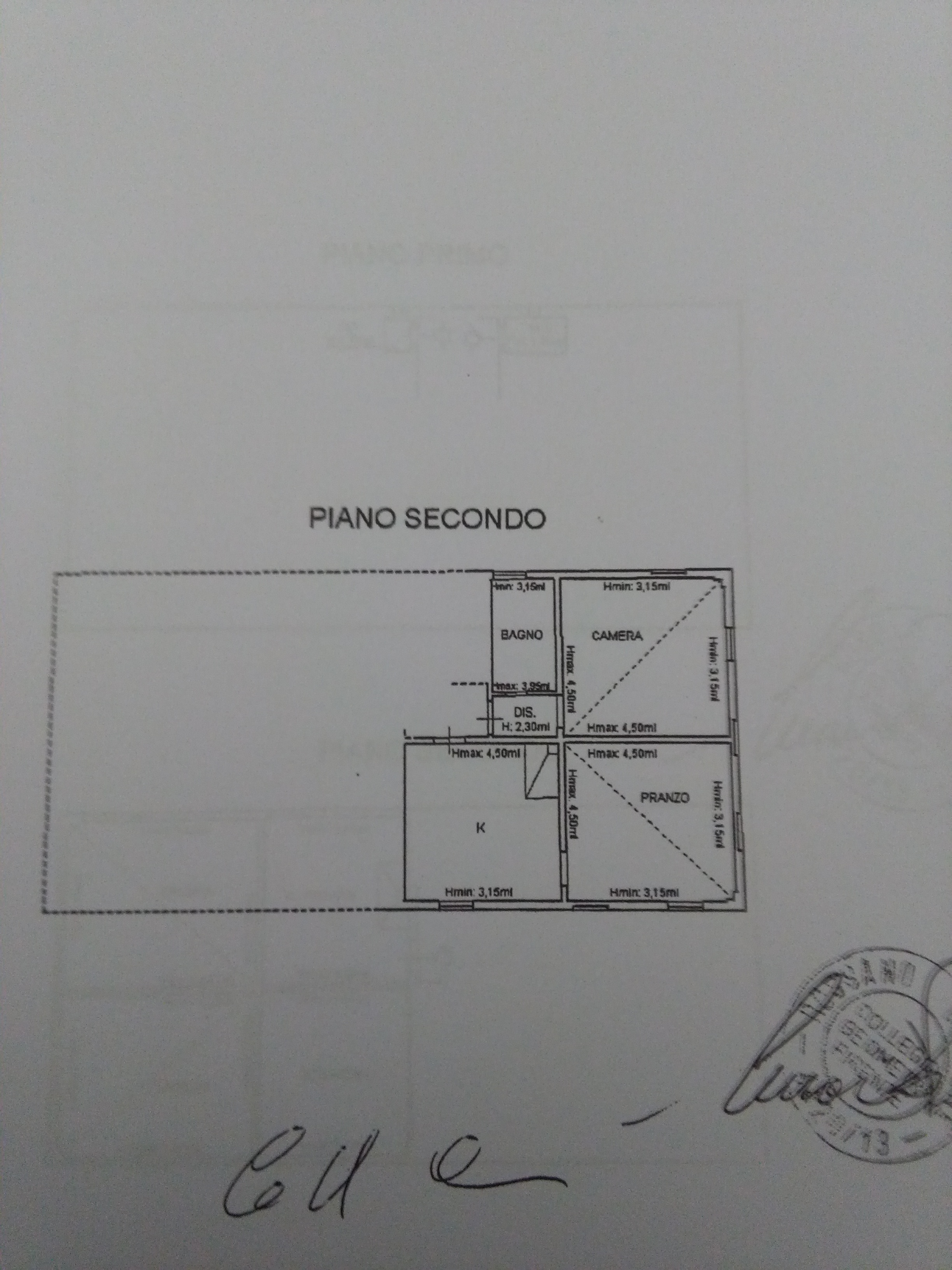 Planimetria 2/4 per rif. 2039