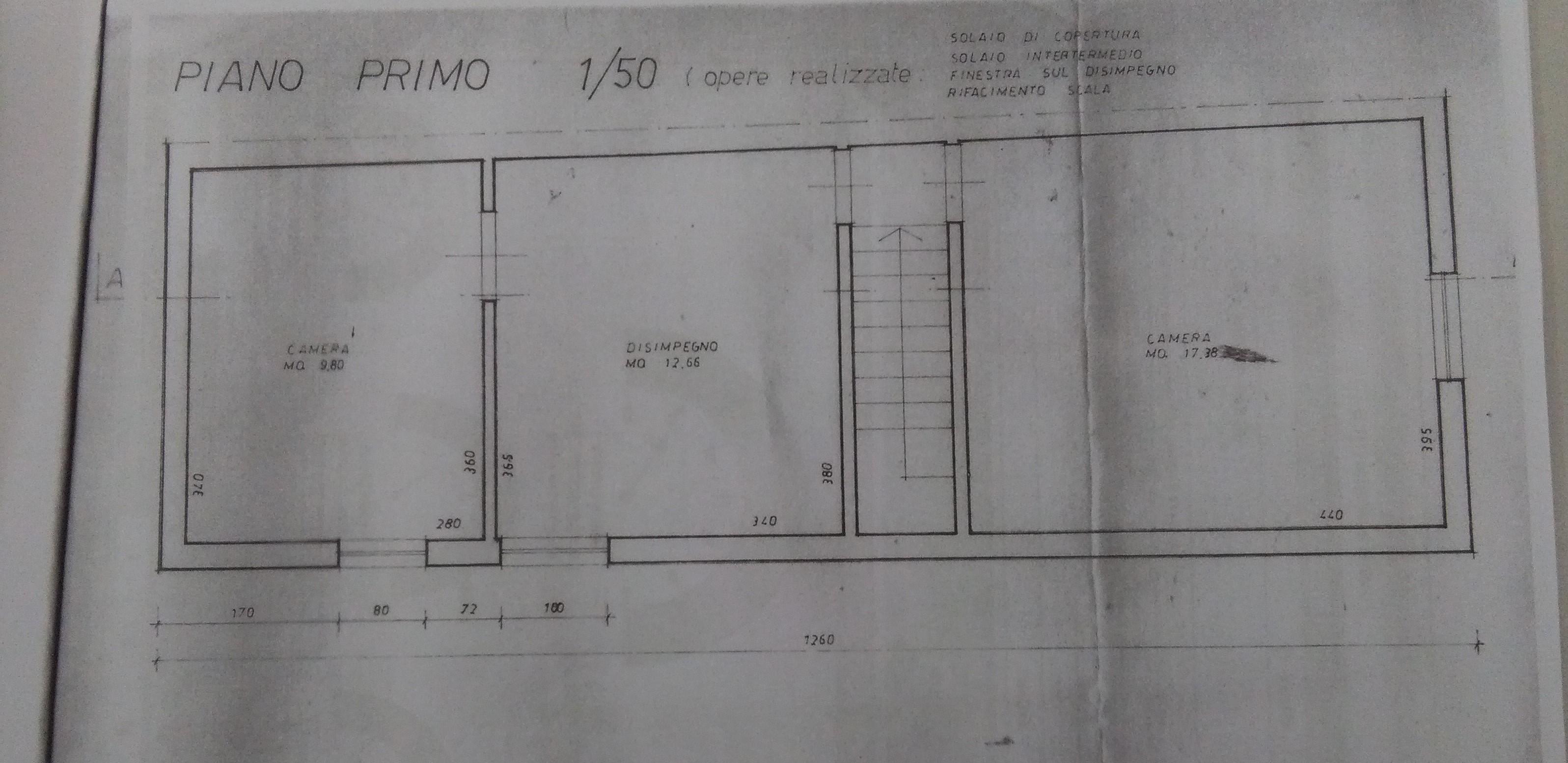 Planimetria 2/2 per rif. 2044