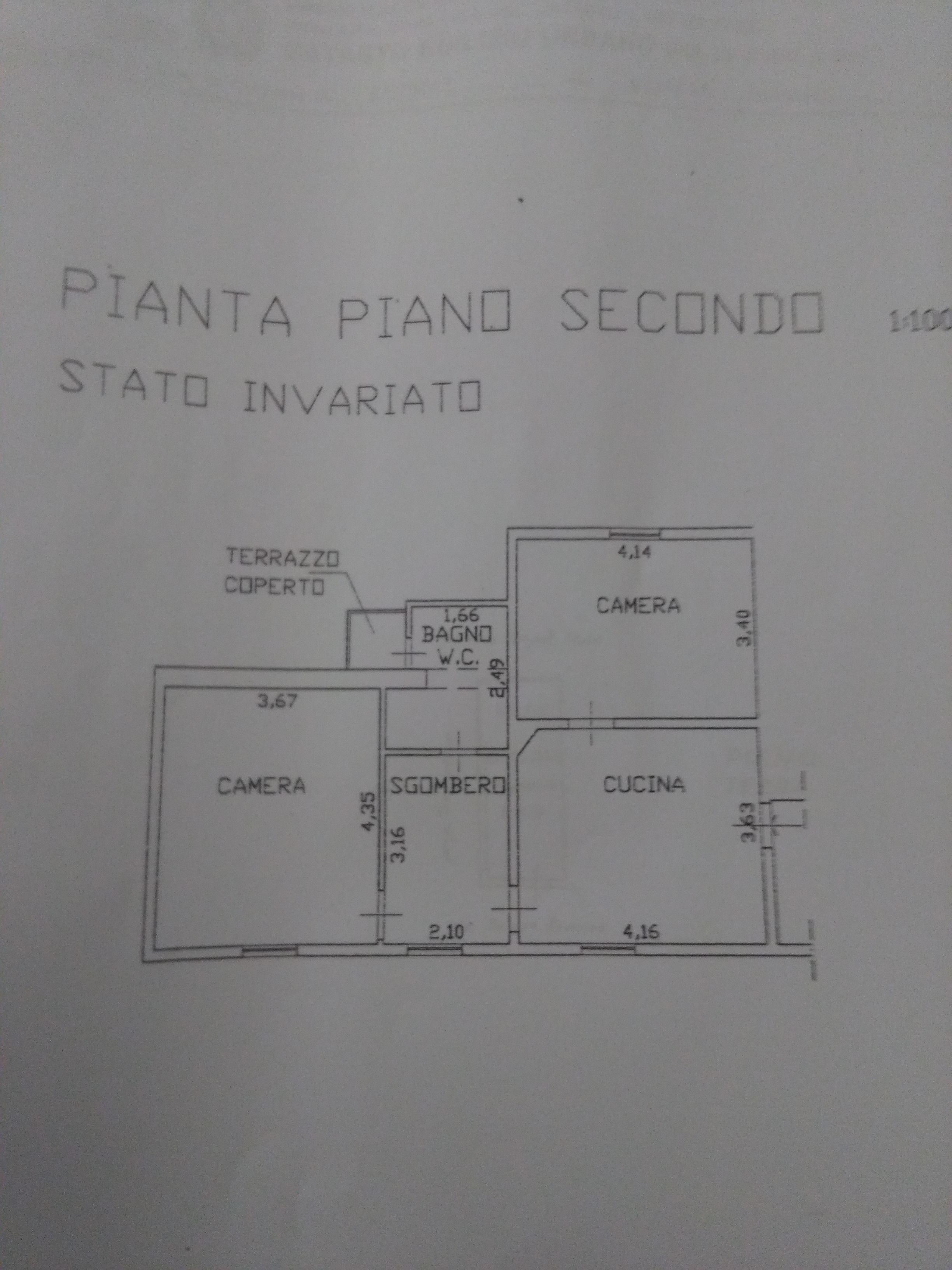 Planimetria 1/1 per rif. 2053
