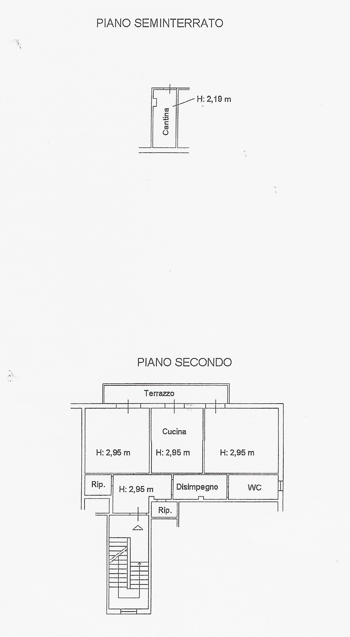 Planimetria 1/1 per rif. 2056