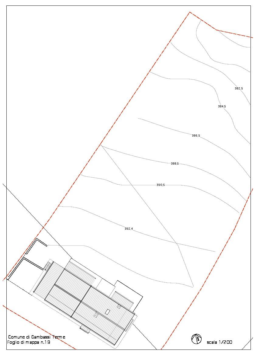 Planimetria 3/3 per rif. 2058