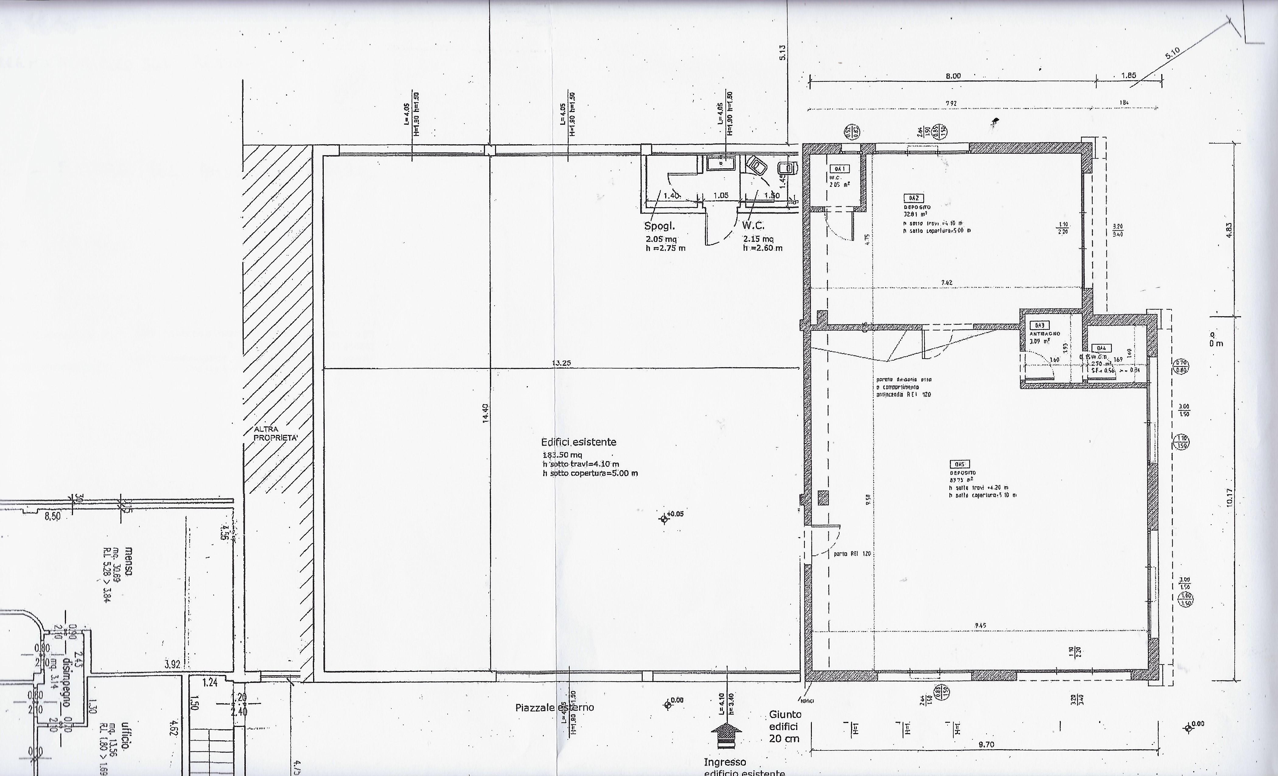 Planimetria 1/1 per rif. 2075