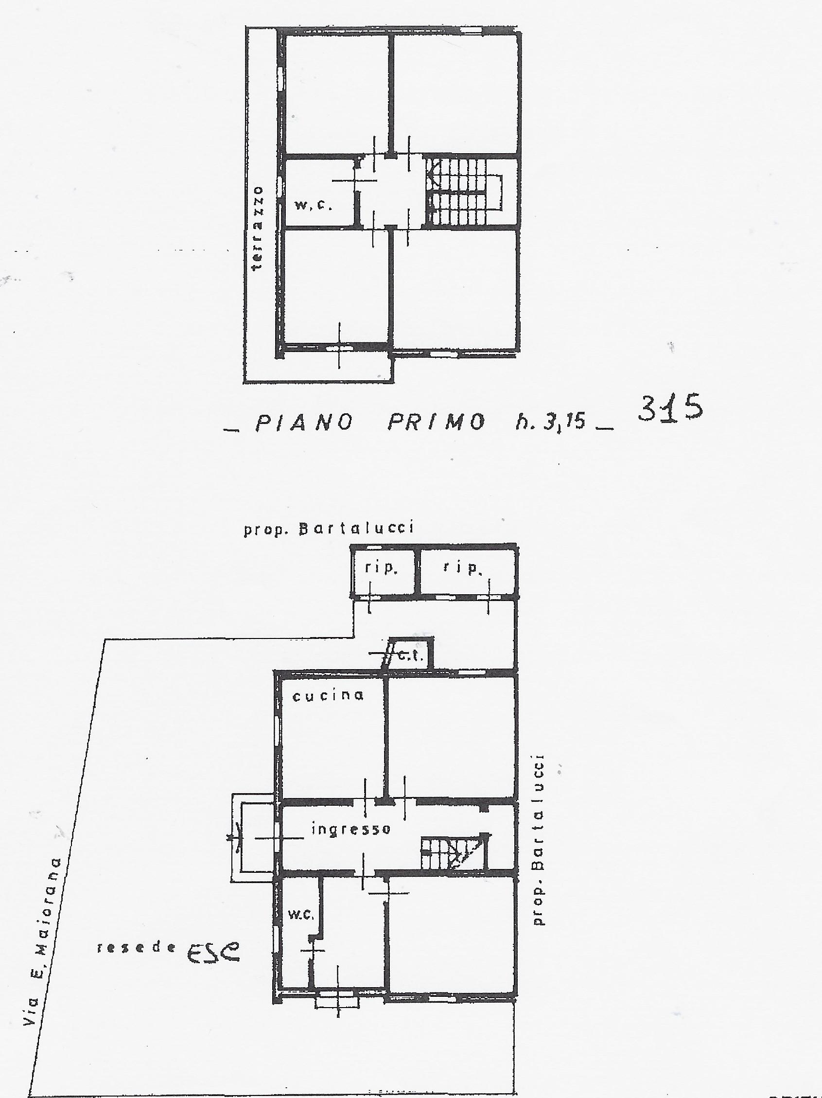 Planimetria 1/1 per rif. 2079