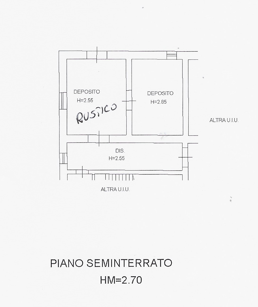 Planimetria 2/4 per rif. 2090