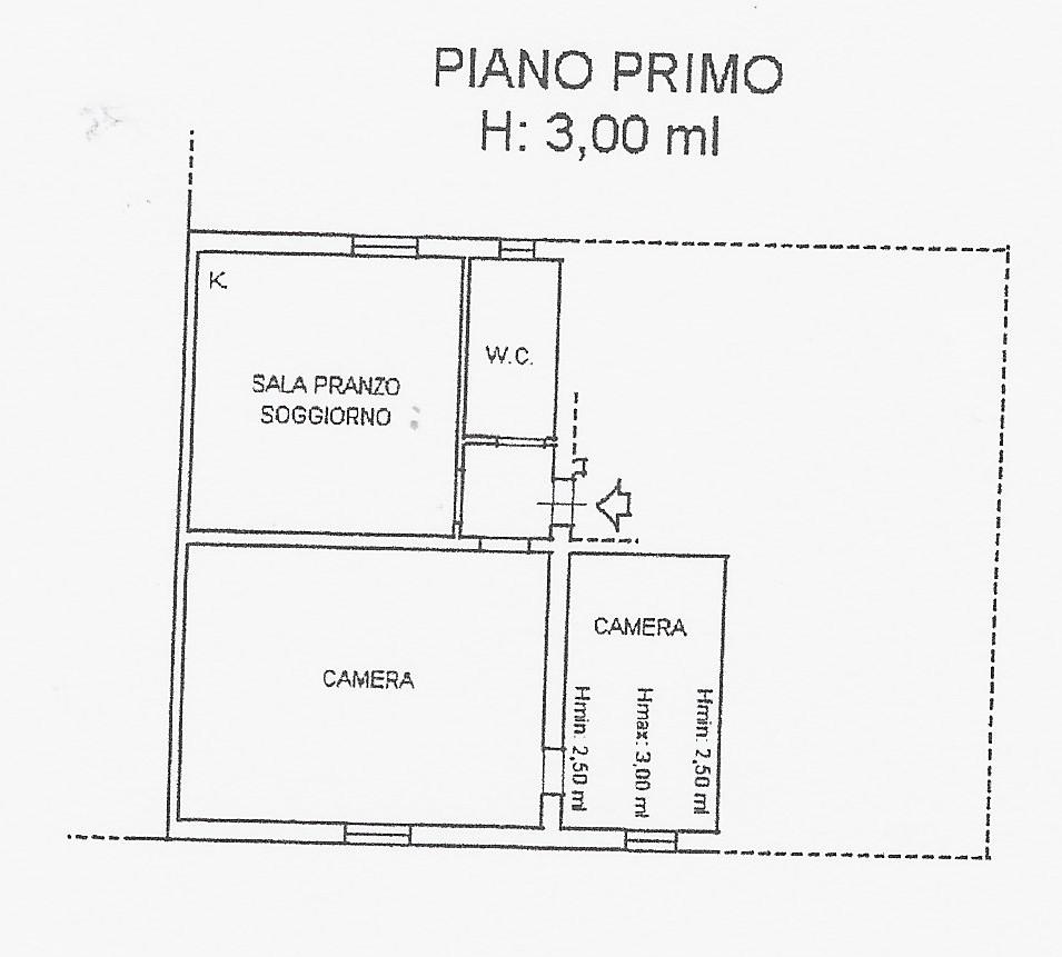Planimetria 1/2 per rif. 2095