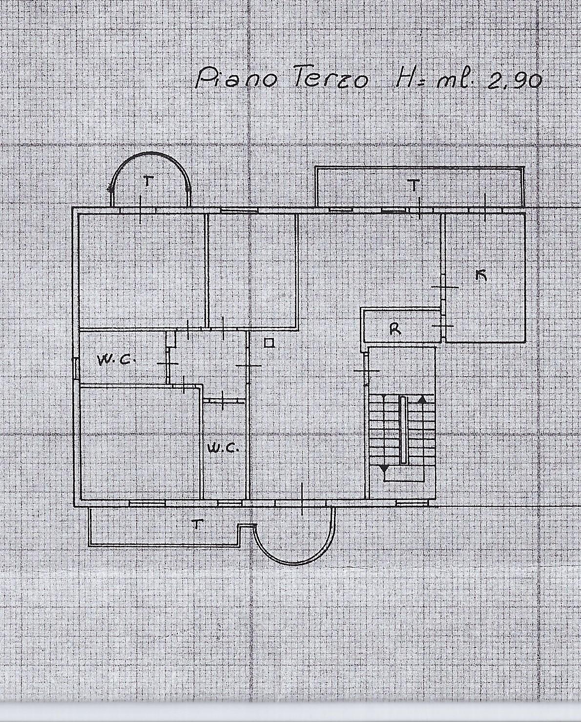 Planimetria 1/1 per rif. 2112