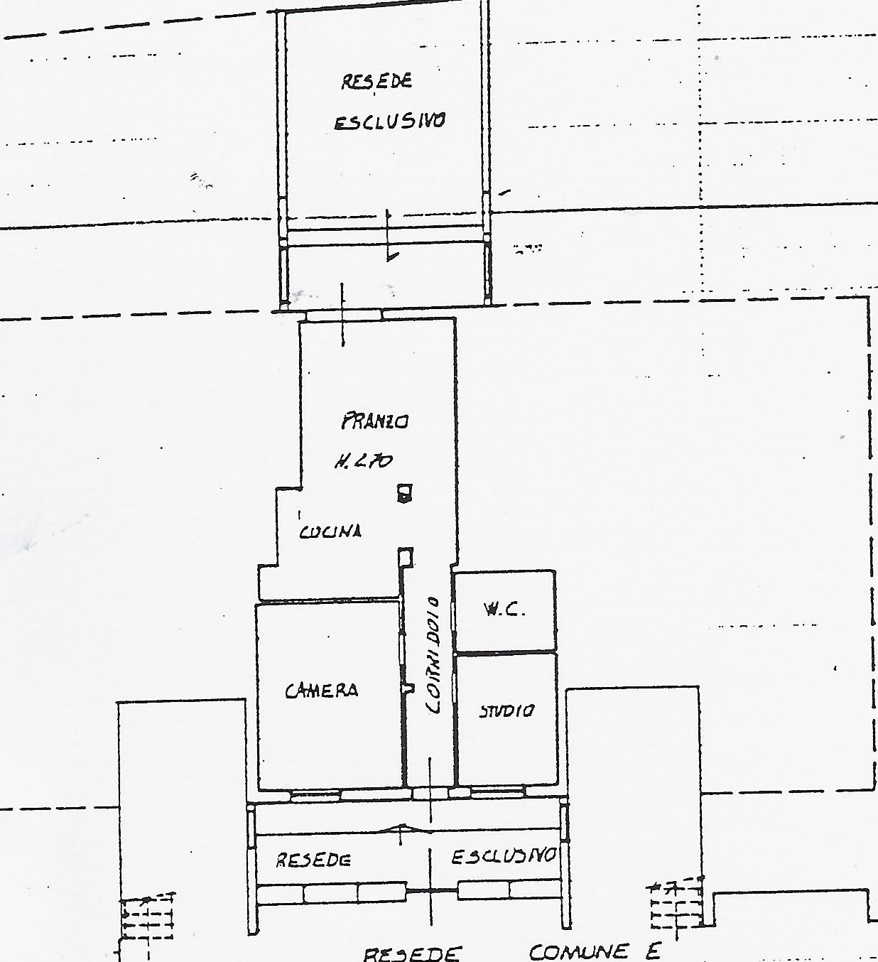 Planimetria 1/1 per rif. 2121