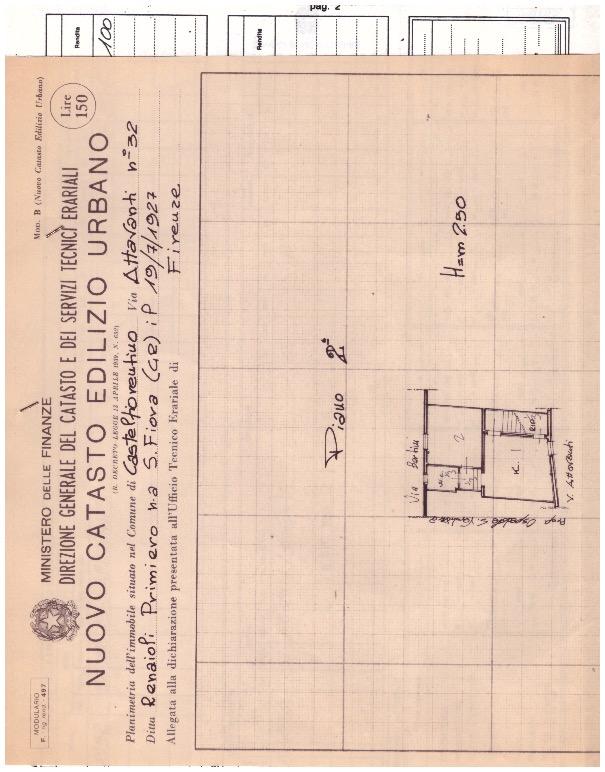 Planimetria 1/1 per rif. 2123