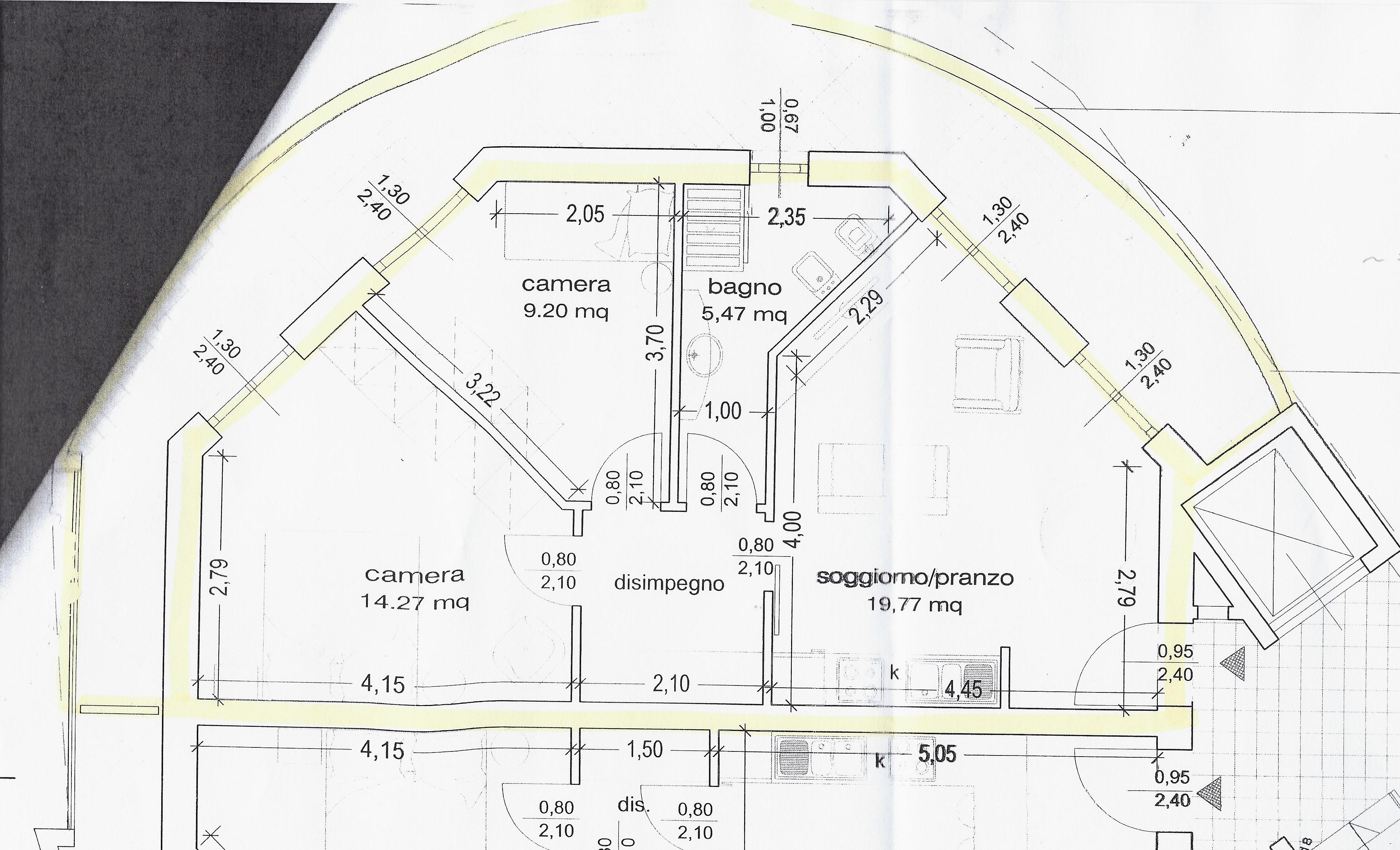 Planimetria 1/1 per rif. 2130