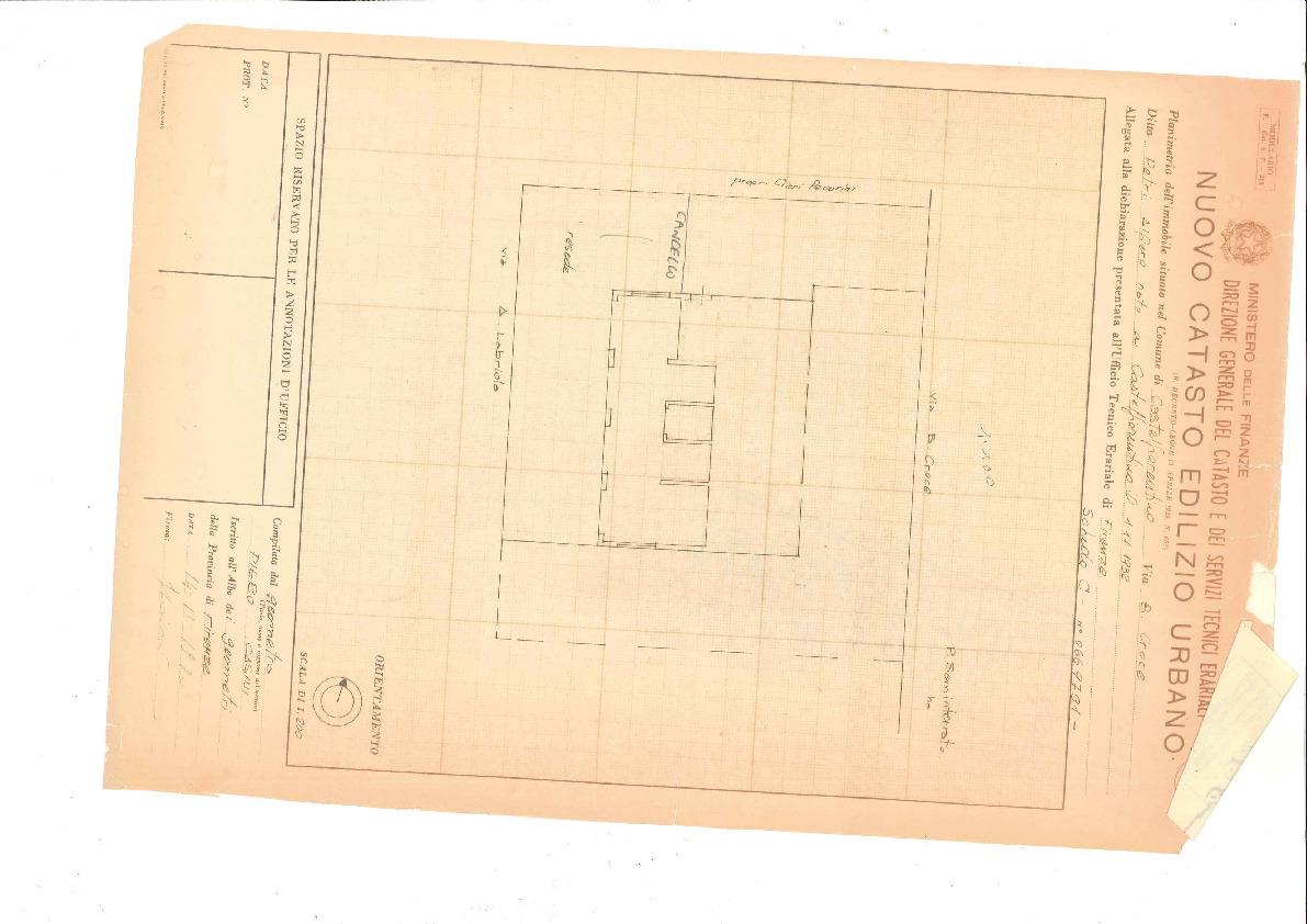 Planimetria 2/2 per rif. 2136