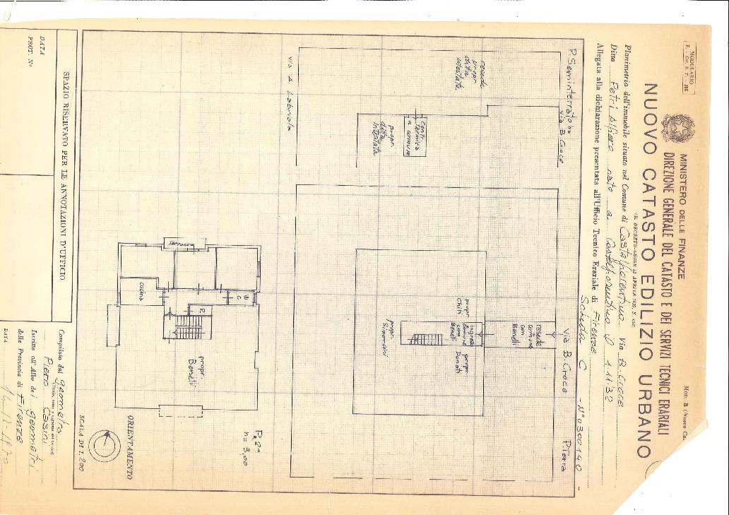 Planimetria 1/2 per rif. 2136