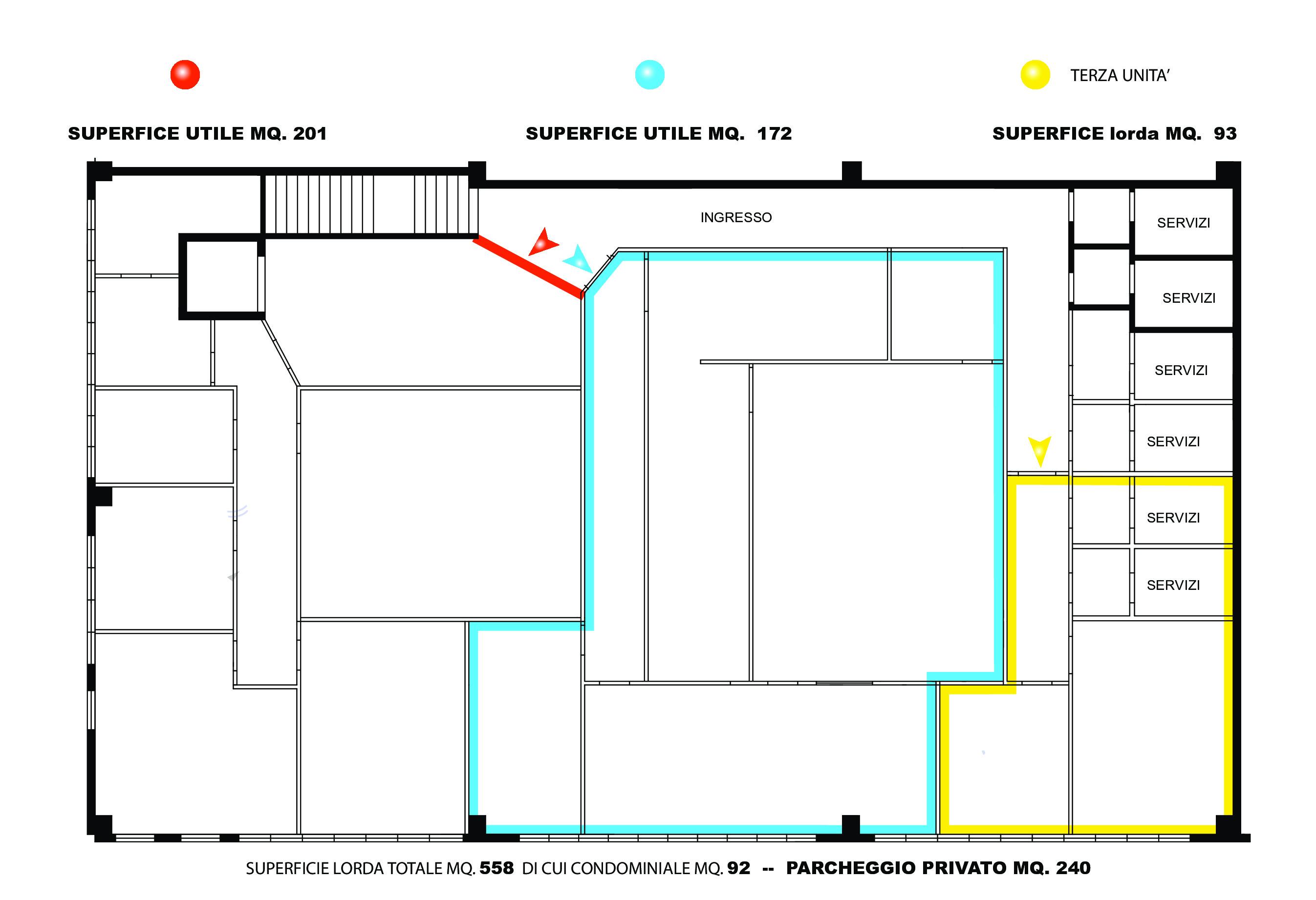 Planimetria 1/1 per rif. 2156