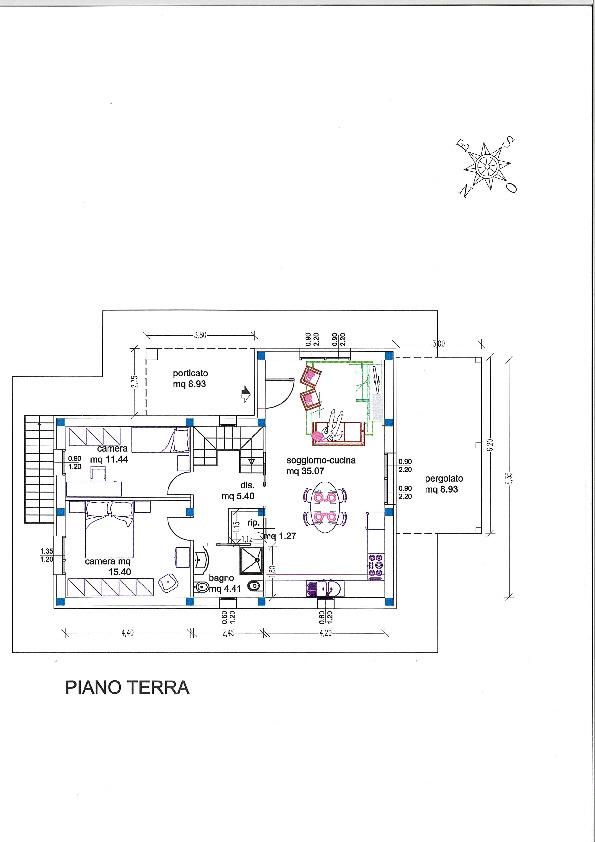 Planimetria 2/2 per rif. 1516