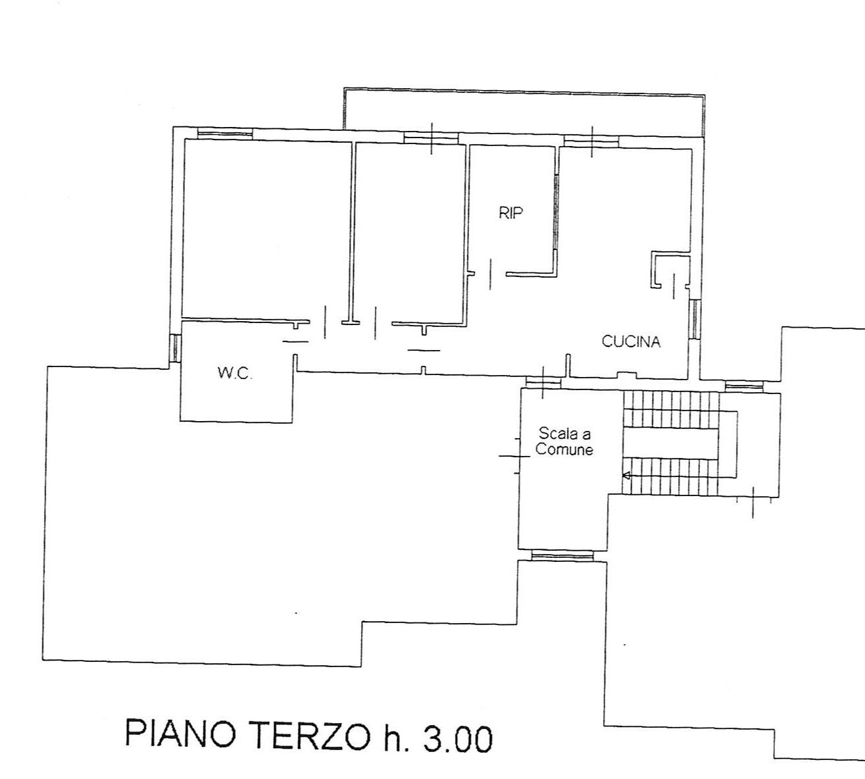 Planimetria 1/1 per rif. 2185