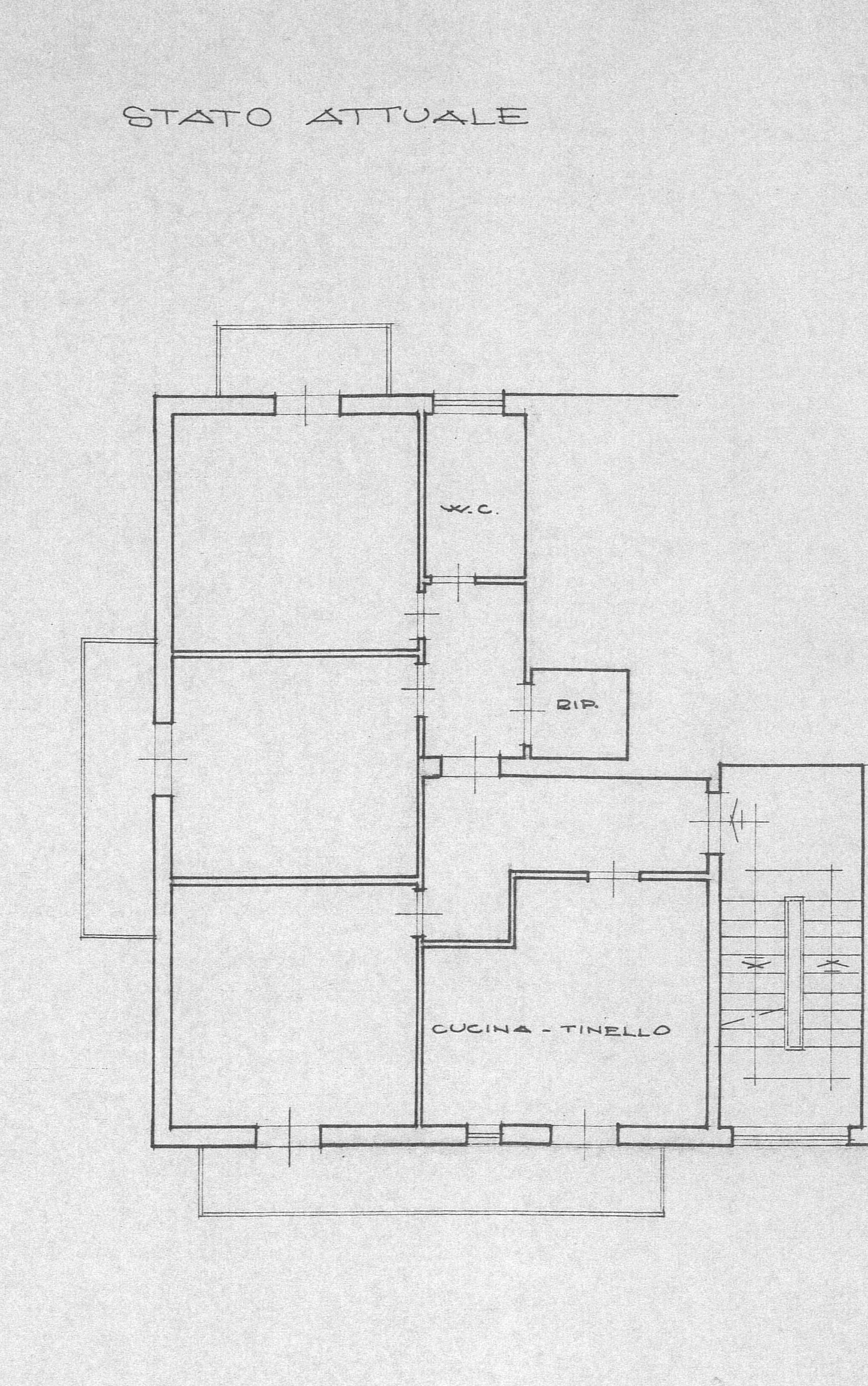 Planimetria 1/1 per rif. 2196