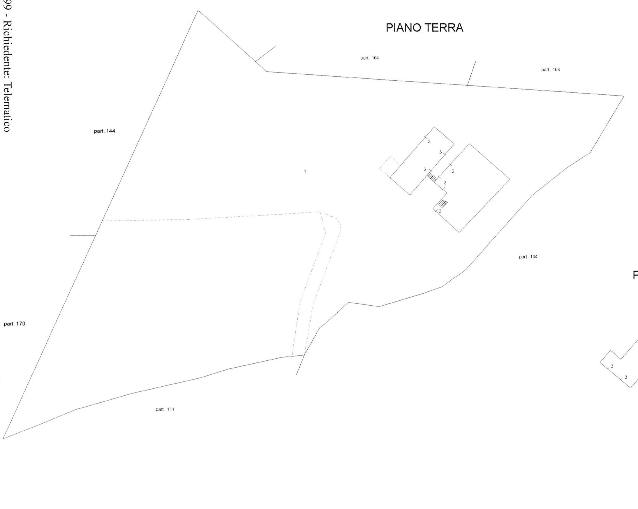 Planimetria 3/3 per rif. 2212