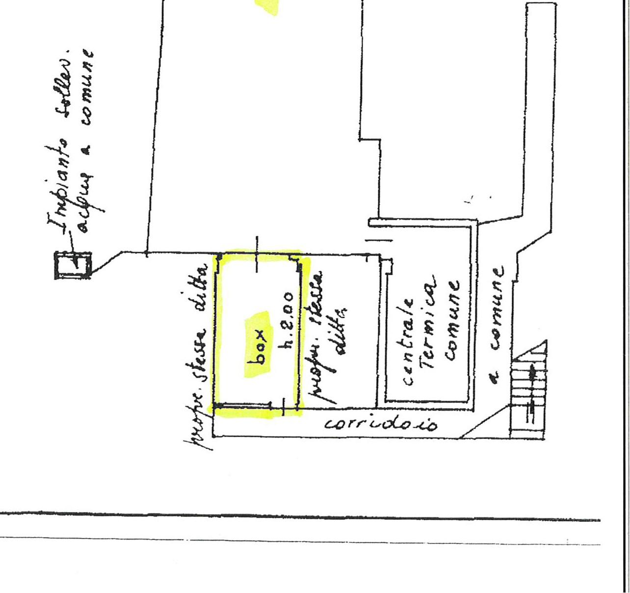Planimetria 2/2 per rif. 2221