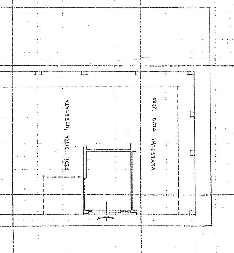 Planimetria 2/2 per rif. 2225