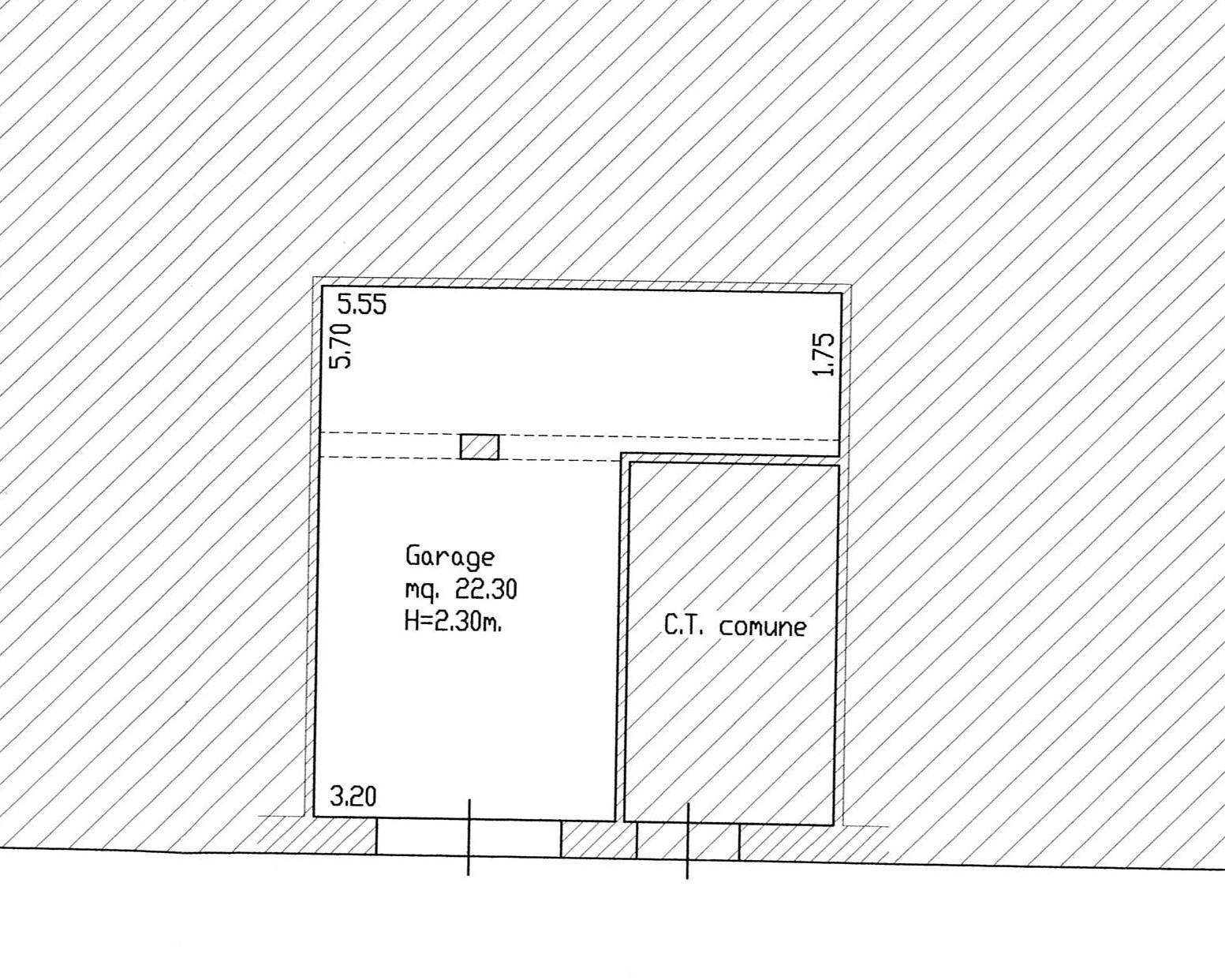 Planimetria 3/3 per rif. 2233