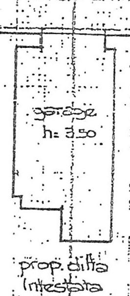 Planimetria 2/2 per rif. 2236