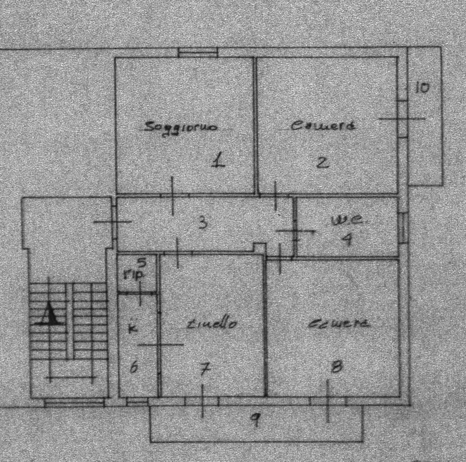 Planimetria 1/1 per rif. 2240