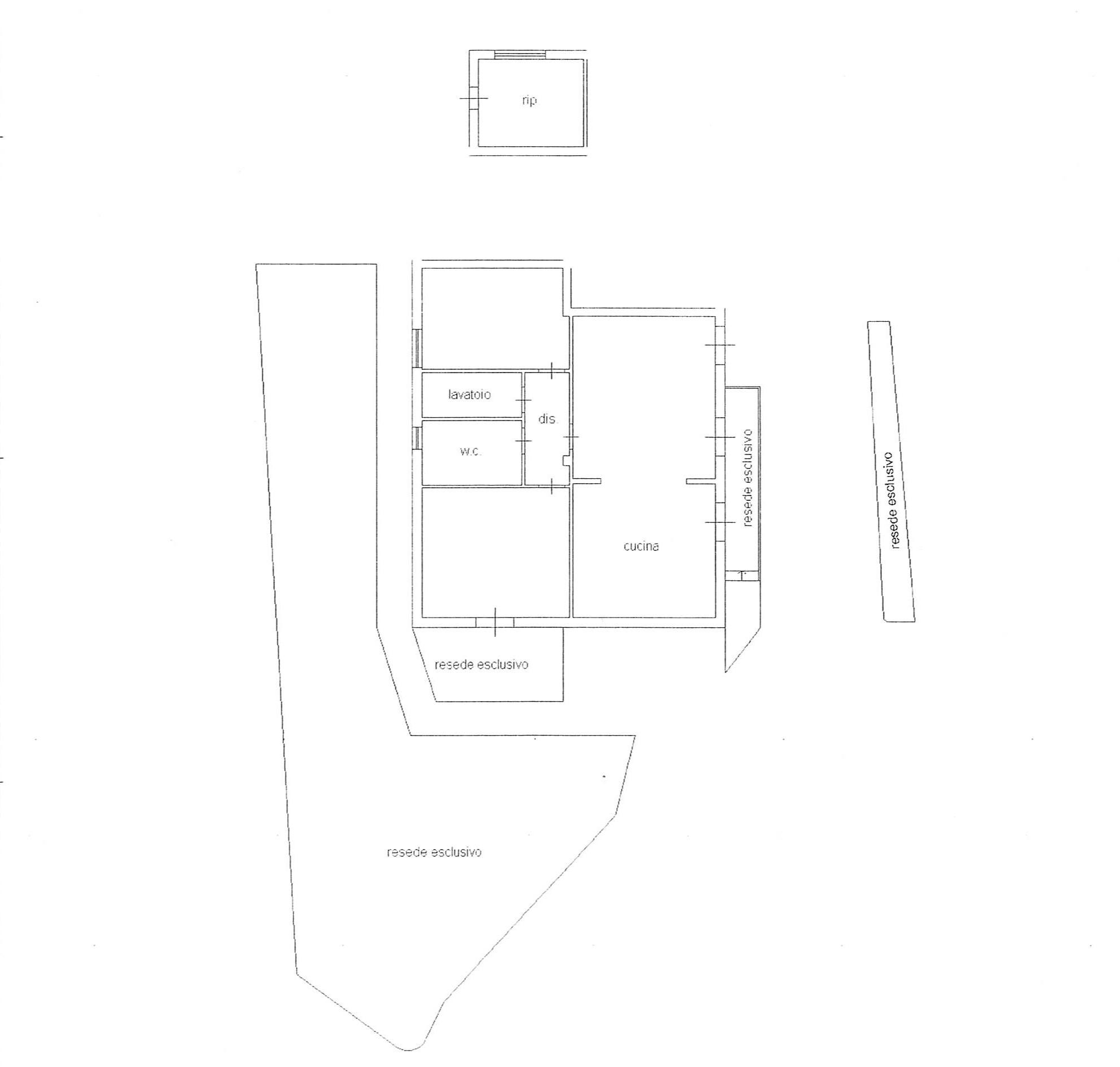 Planimetria 1/1 per rif. 2246