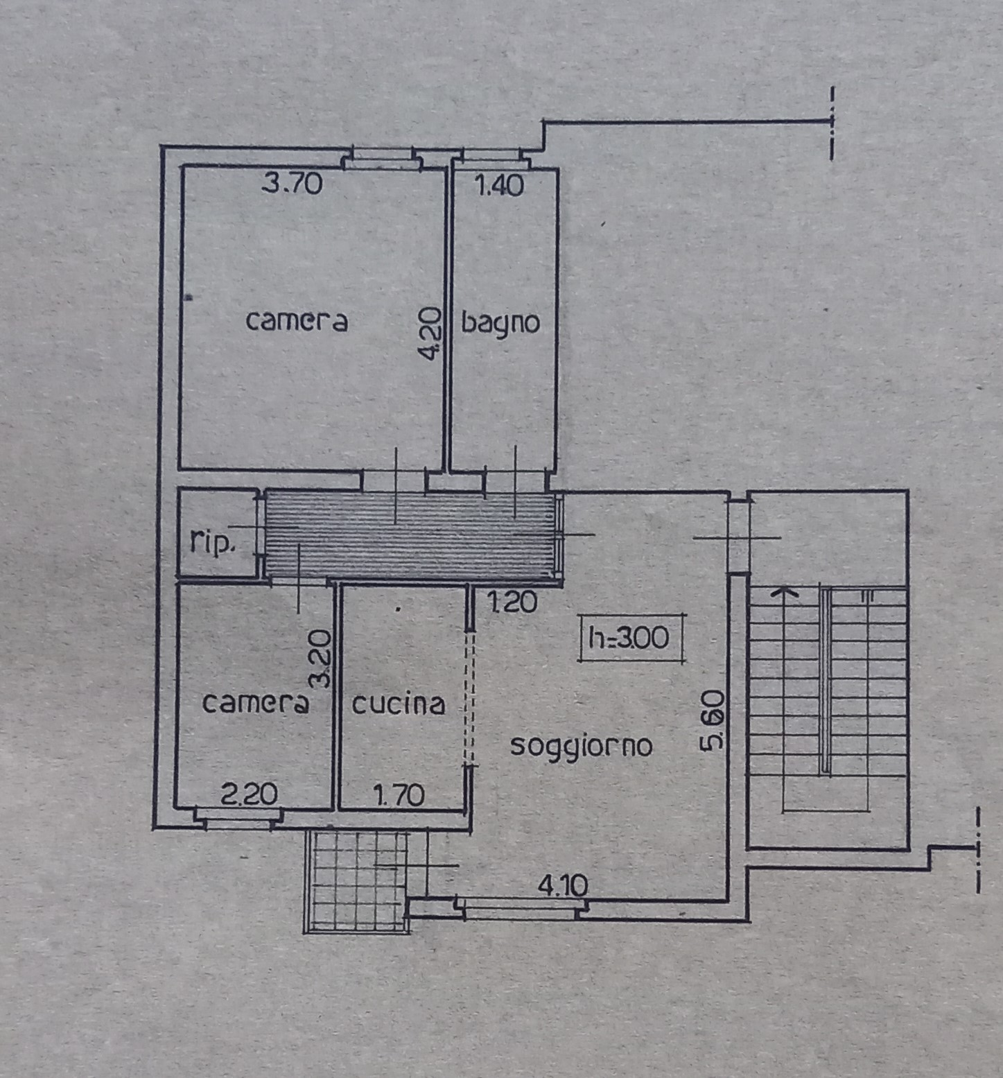 Planimetria 1/2 per rif. 2251