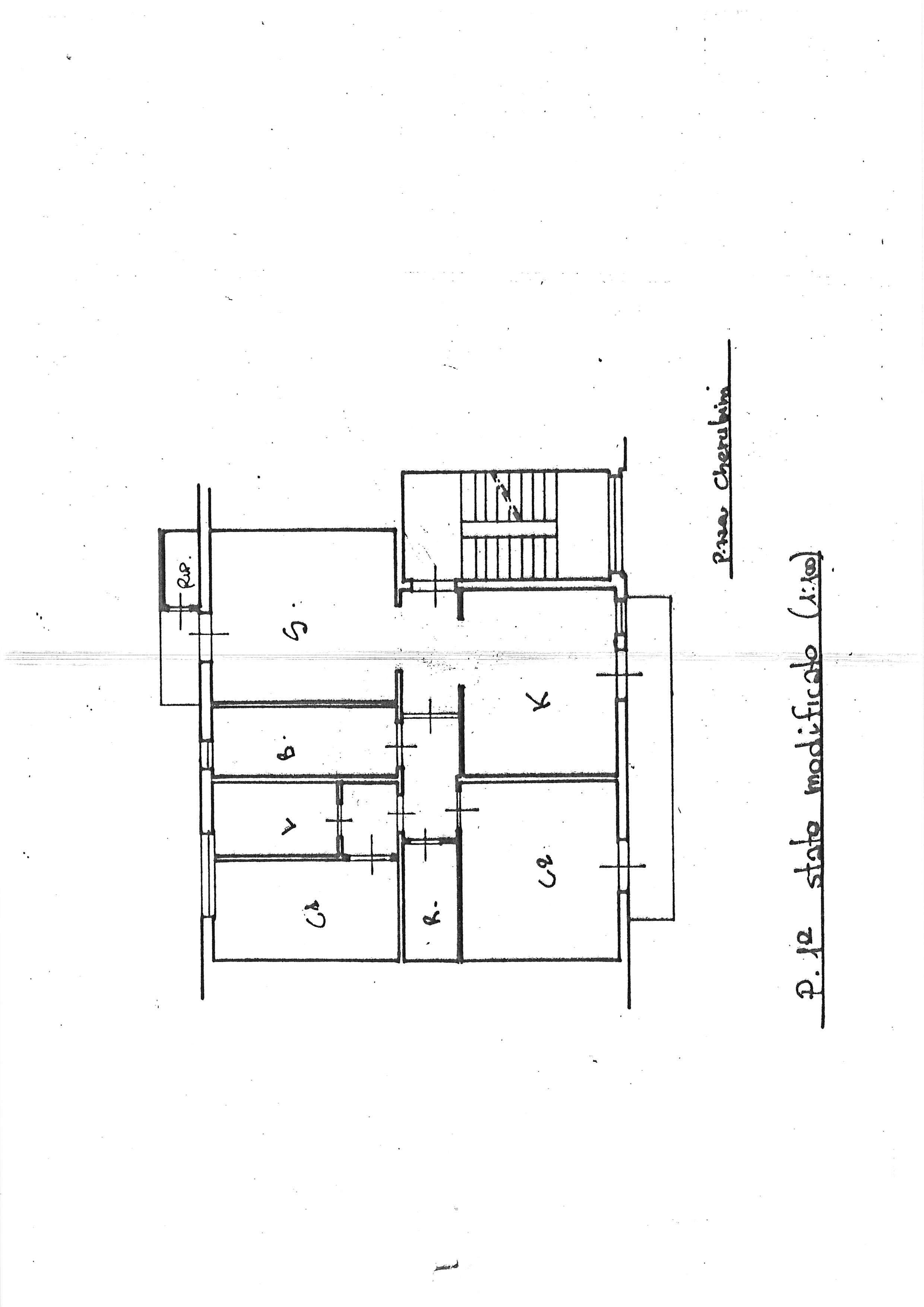 Planimetria 1/1 per rif. 2255