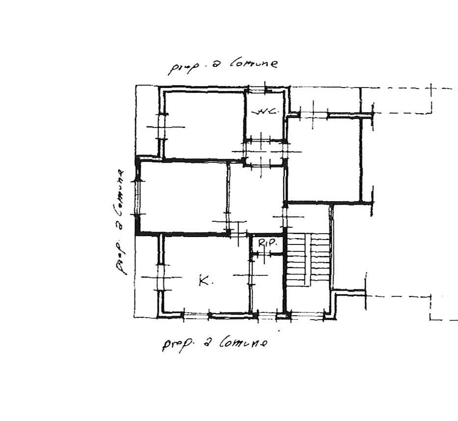 Planimetria 1/2 per rif. 2256