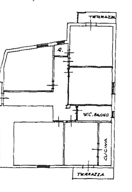 Planimetria 1/1 per rif. 2261