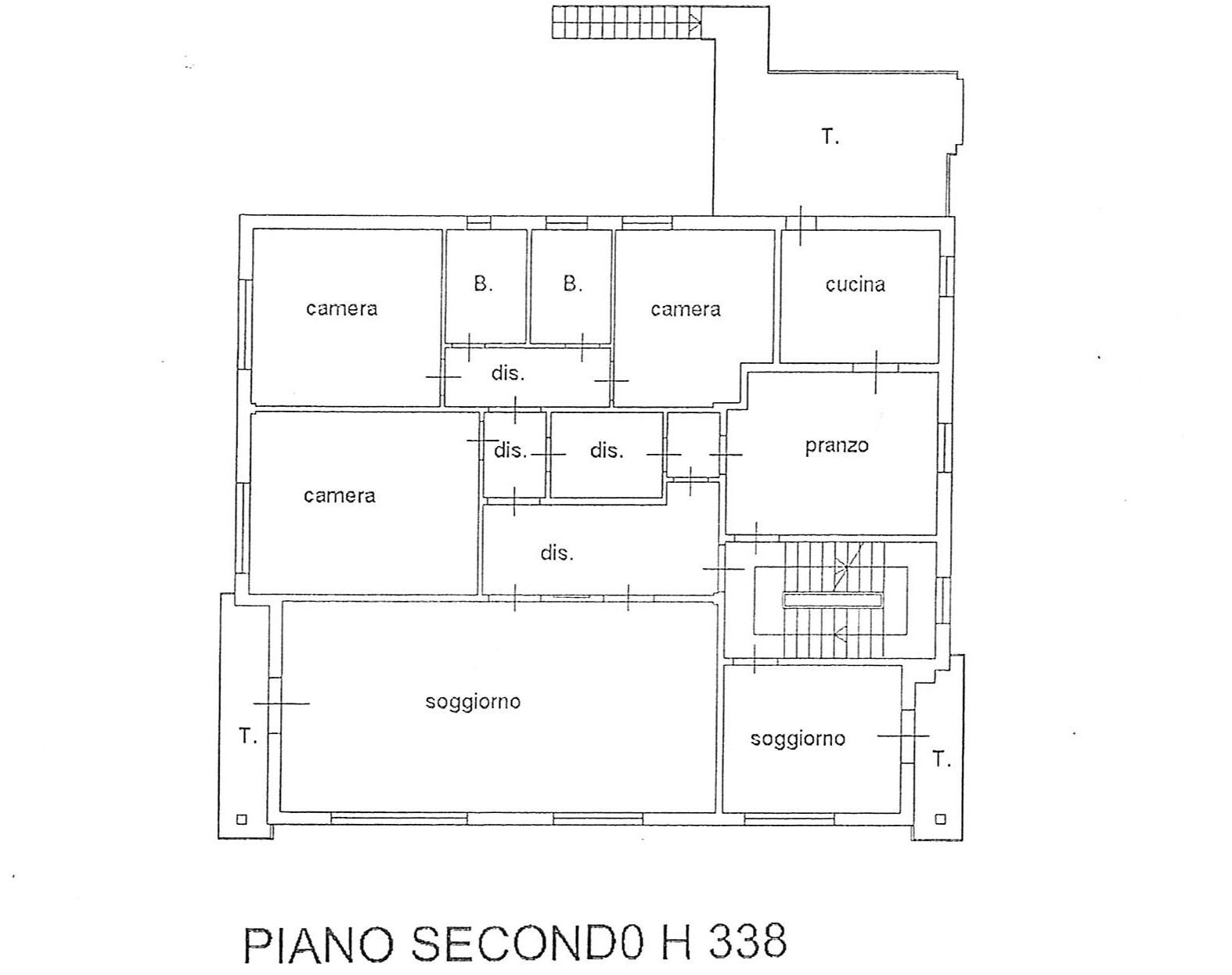 Planimetria 1/1 per rif. 2262
