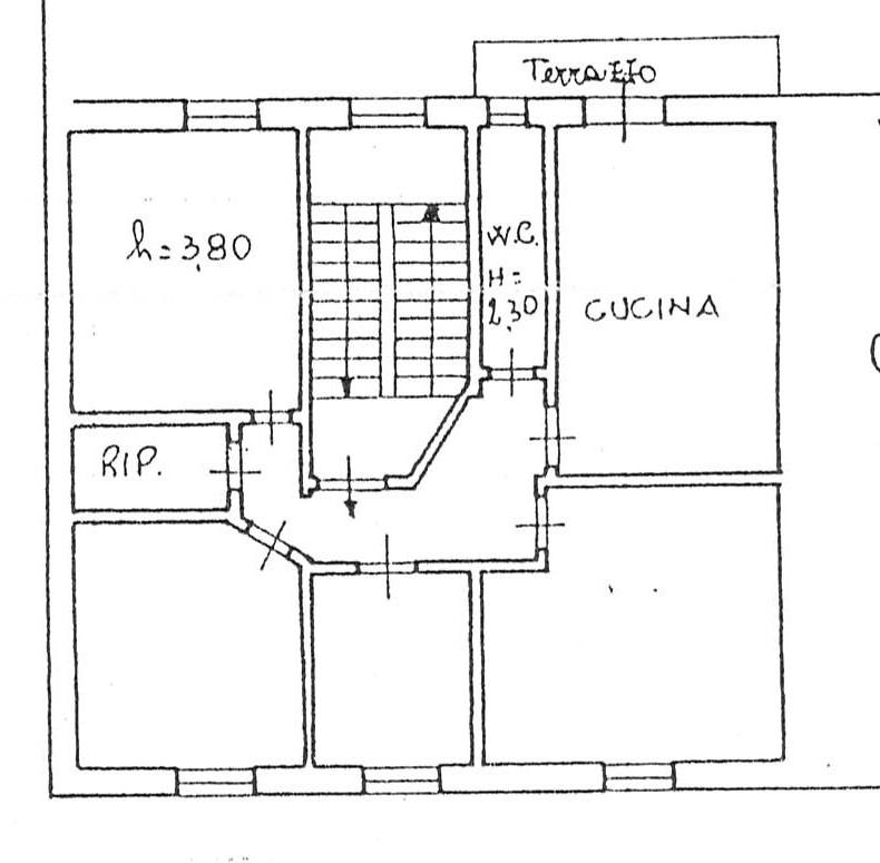 Planimetria 1/1 per rif. 2264