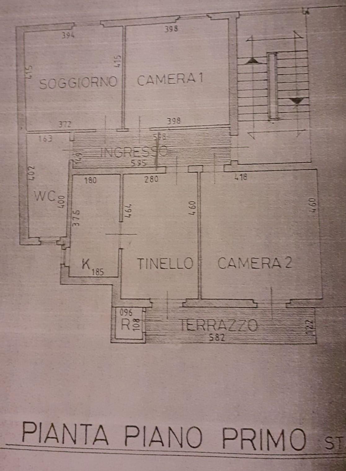 Planimetria 1/1 per rif. 2267