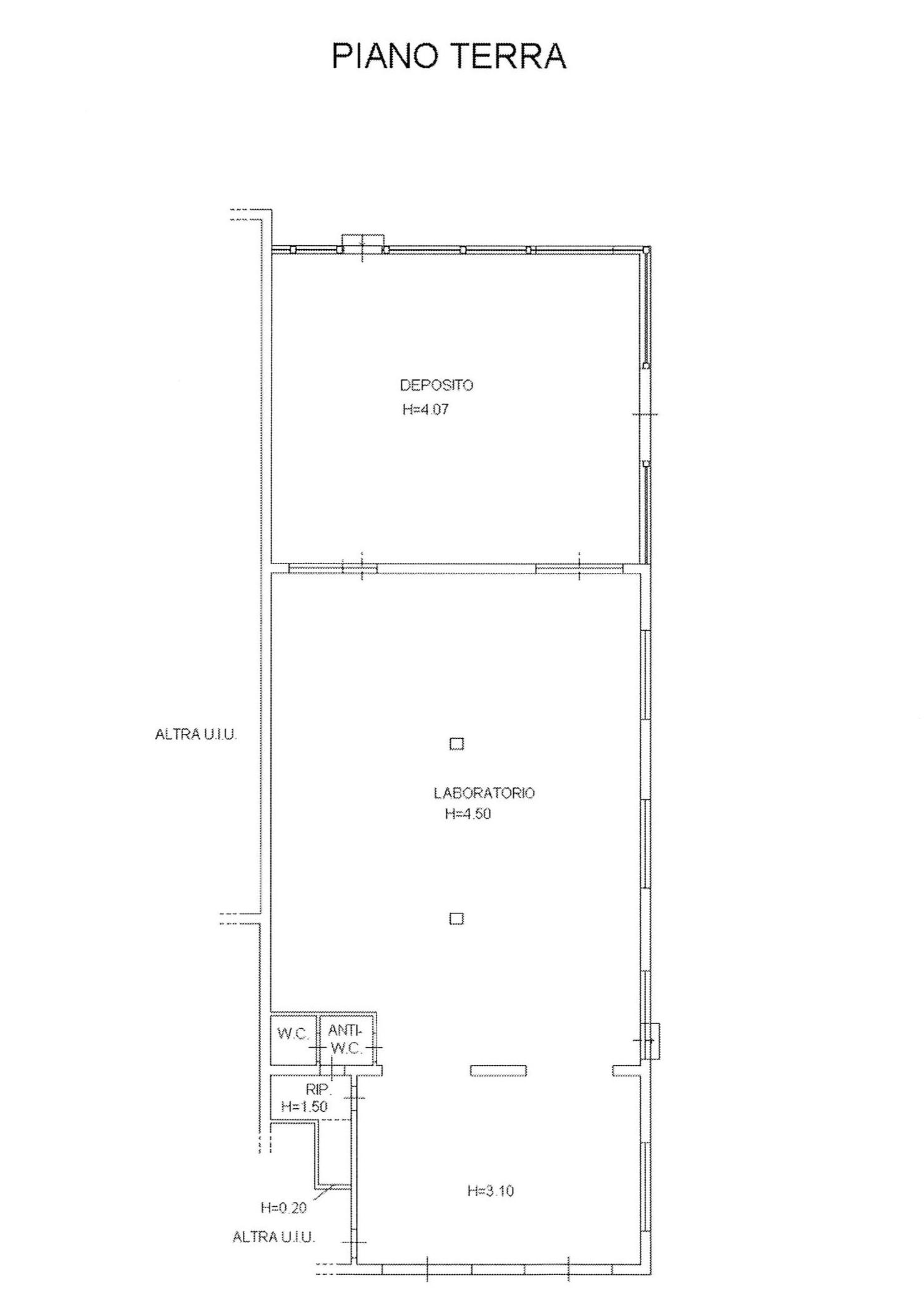 Planimetria 2/2 per rif. 2272